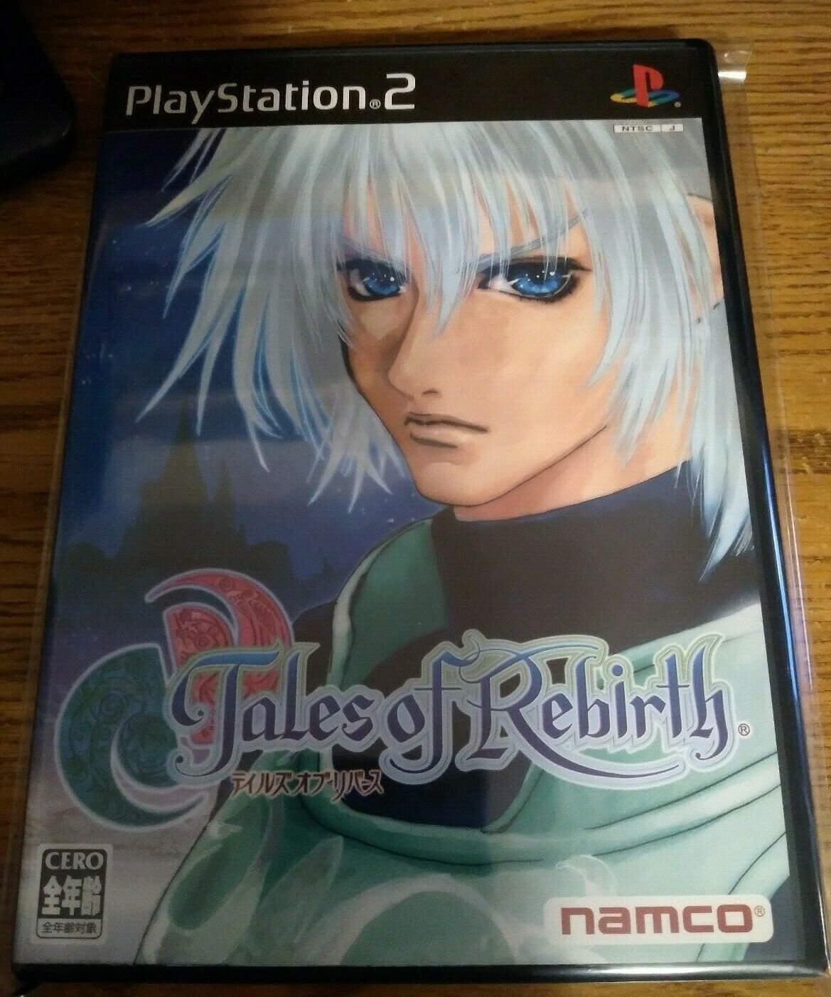 Tales of Rebirth (Sony PlayStation 2, 2004) W /Manual Japan Import PS2 US Seller