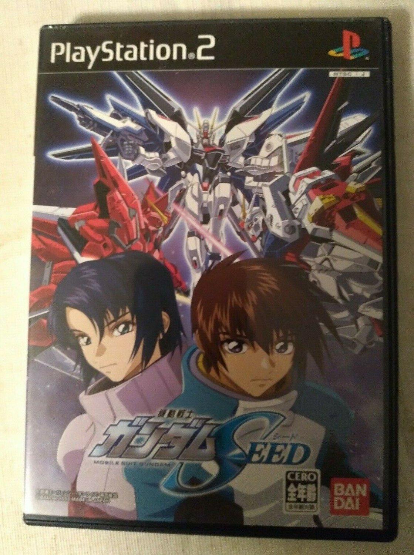 Gundam Seed (Sony PlayStation 2, 2003) W/ Manual Japan Import PS2 US Seller