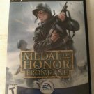 Medal of Honor: Frontline (Sony PlayStation 2, 2002) Complete With Manual PS2