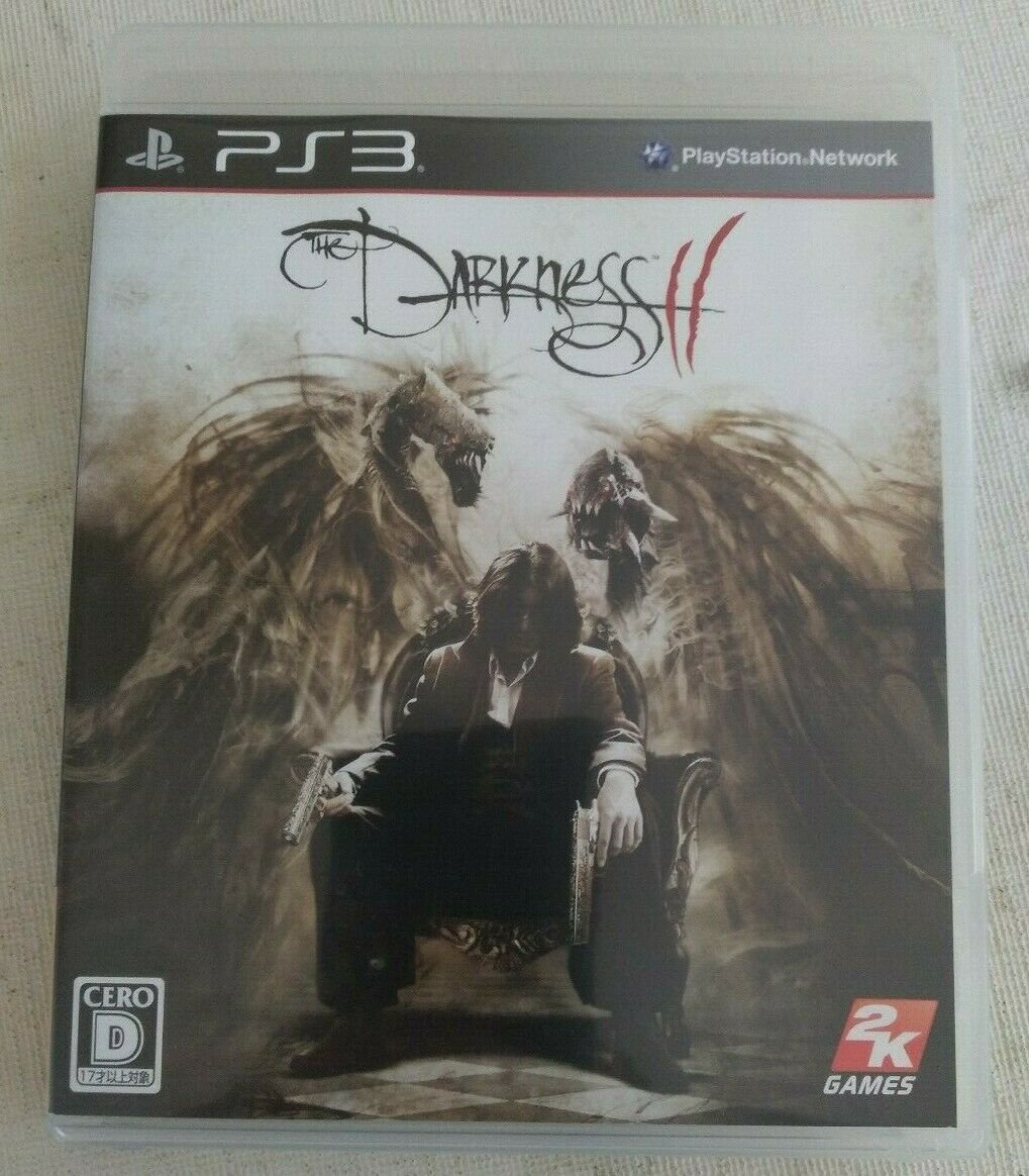 The Darkness II (Sony PlayStation 3, 2012) Complete W/Manual Japan Import PS3