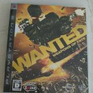 Wanted: Weapons of Fate (Sony PlayStation 3, 2009) W/ Manual Japan Import PS3