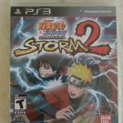 Naruto Shippuden: Ultimate Ninja Storm 2 (Sony PlayStation 3) With Manual PS3