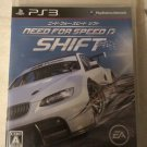 Need for Speed: Shift (Sony PlayStation 3, 2009) Complete Japan Import PS3