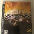 Need for Speed: Undercover (Sony PlayStation 3, 2008) Complete Japan Import PS3