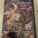 .hack//G.U.: Vol. 2 Reminisce (Sony PlayStation 2) Japan Import PS2 US Seller