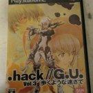.hack//G.U.: Vol. 3 (Sony PlayStation 2, 2007) Japan Import PS2 US Seller READ