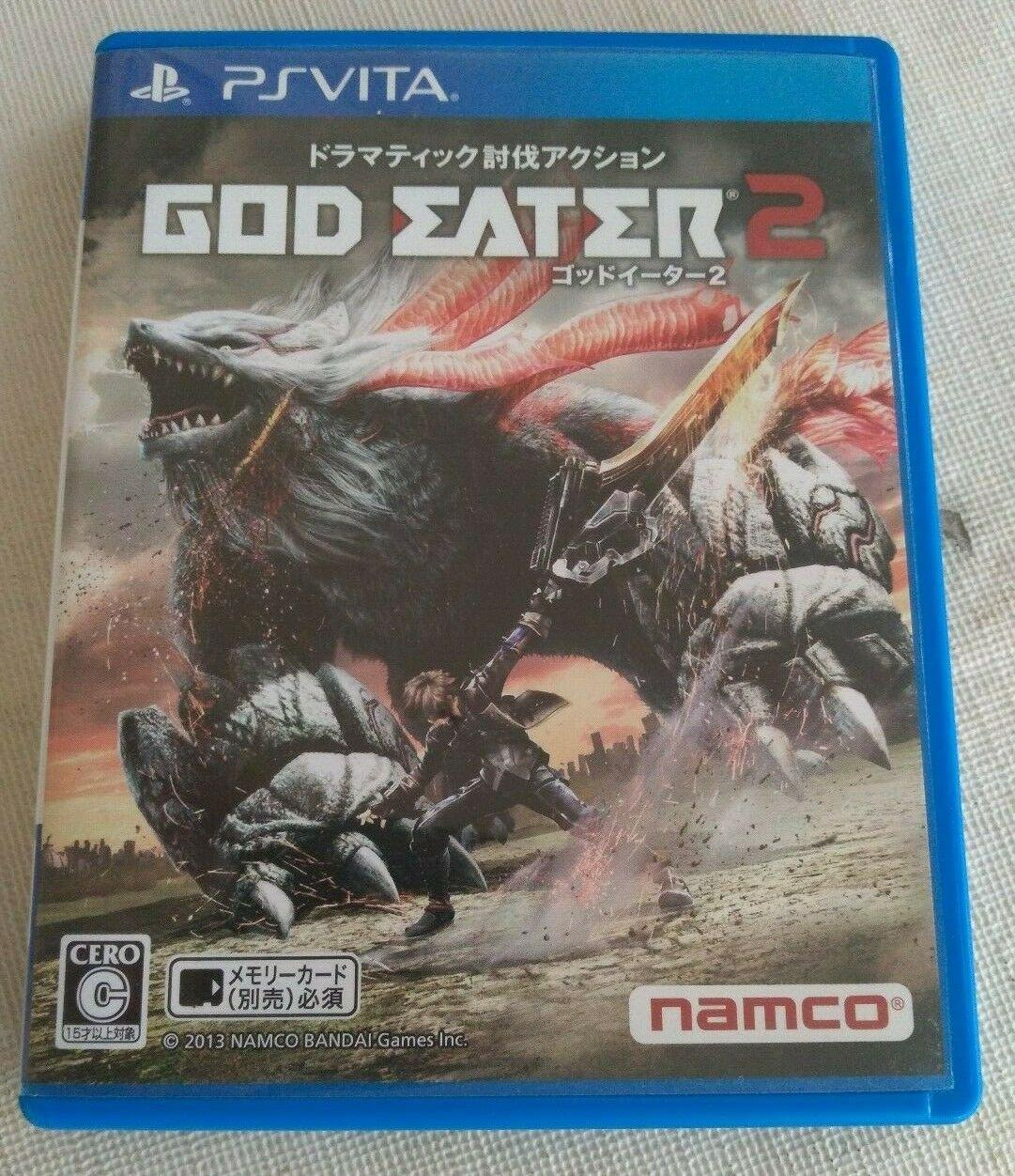 God Eater 2 (Sony PlayStation Vita, 2013) Japan Import PS Vita