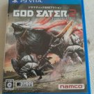 God Eater 2 (Sony PlayStation Vita, 2013) Japan Import PS Vita