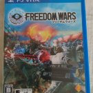Freedom Wars (Sony PlayStation Vita, 2014) Japan Import PS Vita Tested