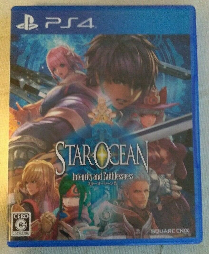 Star Ocean: Integrity and Faithlessness (Sony PlayStation 4) Japan Import PS4