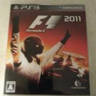 F1 2011 (Sony PlayStation 3, 2011) With Manual Japan Import PS3