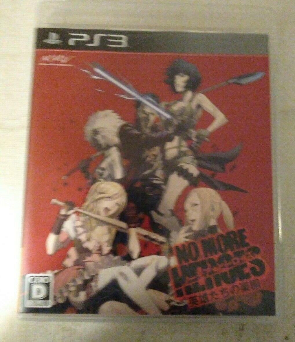 No More Heroes: Eiyuutachi no Rakuen (Sony PlayStation 3 2010) Japan Import PS3