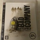 Battlefield: Bad Company (Sony PlayStation 3, 2008) With Manual Japan Import PS3