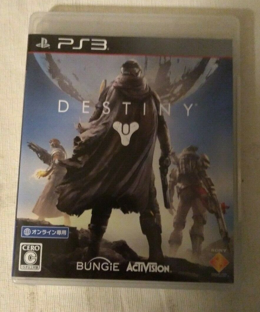 Destiny (Sony PlayStation 3, 2014) With Manual Japan Import PS3