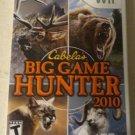 Cabela's Big Game Hunter 2010 (Nintendo Wii, 2009) With Manual CIB
