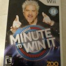 Minute to Win It (Nintendo Wii, 2010) With Manual CIB