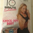 10 Minute Solution (Nintendo Wii, 2010) With Manual CIB