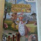 Chicken Shoot (Nintendo Wii, 2007) With Manual CIB