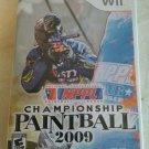 NPPL Championship Paintball 2009 (Nintendo Wii, 2008) With Manual CIB