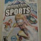 Mountain Sports (Nintendo Wii, 2009) With Manual CIB