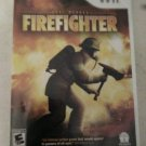 Real Heroes: Firefighter (Nintendo Wii, 2009) With Manual CIB