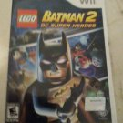 LEGO Batman 2: DC Super Heroes (Nintendo Wii, 2012) With Manual CIB