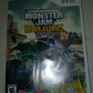 Monster Jam: Urban Assault (Nintendo Wii, 2008) With Manual CIB