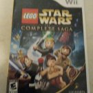 LEGO Star Wars: The Complete Saga (Wii, 2007) With Manual CIB