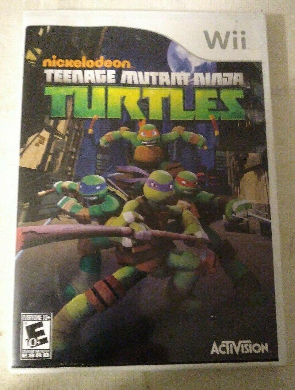 Teenage Mutant Ninja Turtles (Nintendo Wii, 2013) TMNT