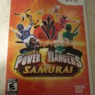 Power Rangers Samurai (Nintendo Wii, 2011) With Manual CIB