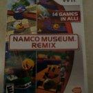 Namco Museum Remix (Nintendo Wii, 2007) With Manual CIB