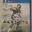 Madden NFL 15 Football (Sony PlayStation 4, 2014) PS4 Tested
