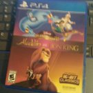 Disney Classic Games: Aladdin and the Lion King (PlayStation 4, 2019) PS4 Tested