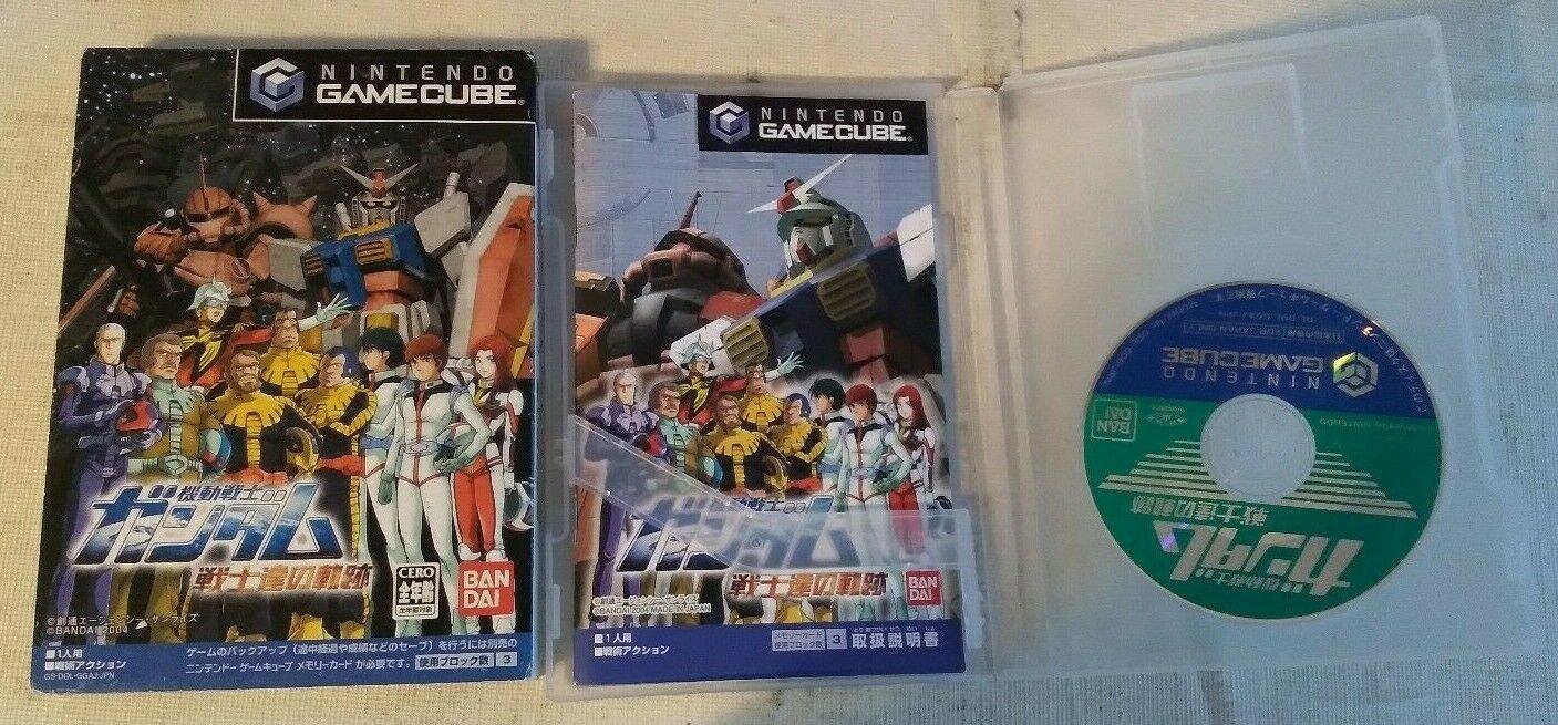 Mobile Suit Gundam: Pilots Locus Gamecube With Box, Case, & Manual Japan Import