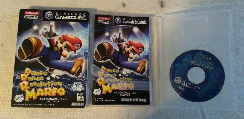 Dance Dance Revolution With Mario (Gamecube ) W/Box, Case, & Manual Japan Import
