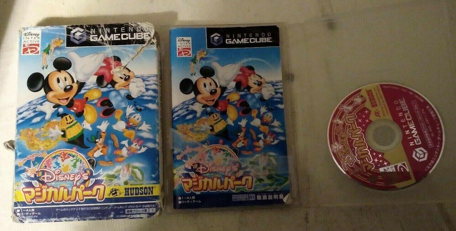 Disney's Magical Park ( Nintendo GameCube ) W/Box, Case, & Manual Japan Import