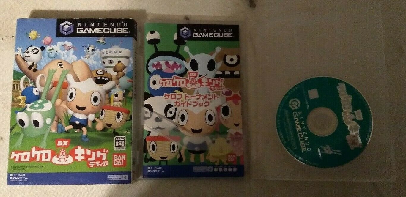 Kero Kero King DX ( Nintendo GameCube ) W/Box, Case, & Manual Japan Import