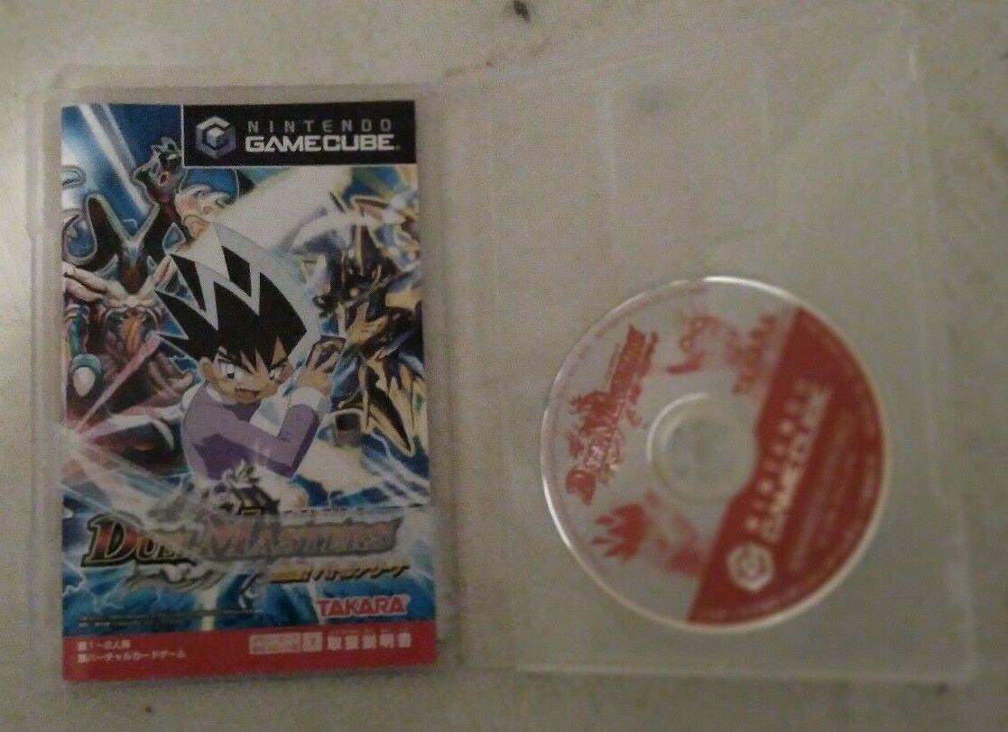 Duel Masters Nettou Battle Arena (Nintendo Gamecube) Case & Manual Japan Import