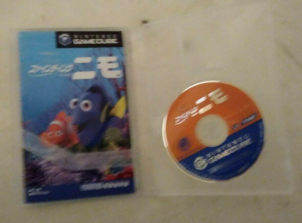 Finding Nemo (Nintendo GameCube, 2003) Case & Manual Japan Import