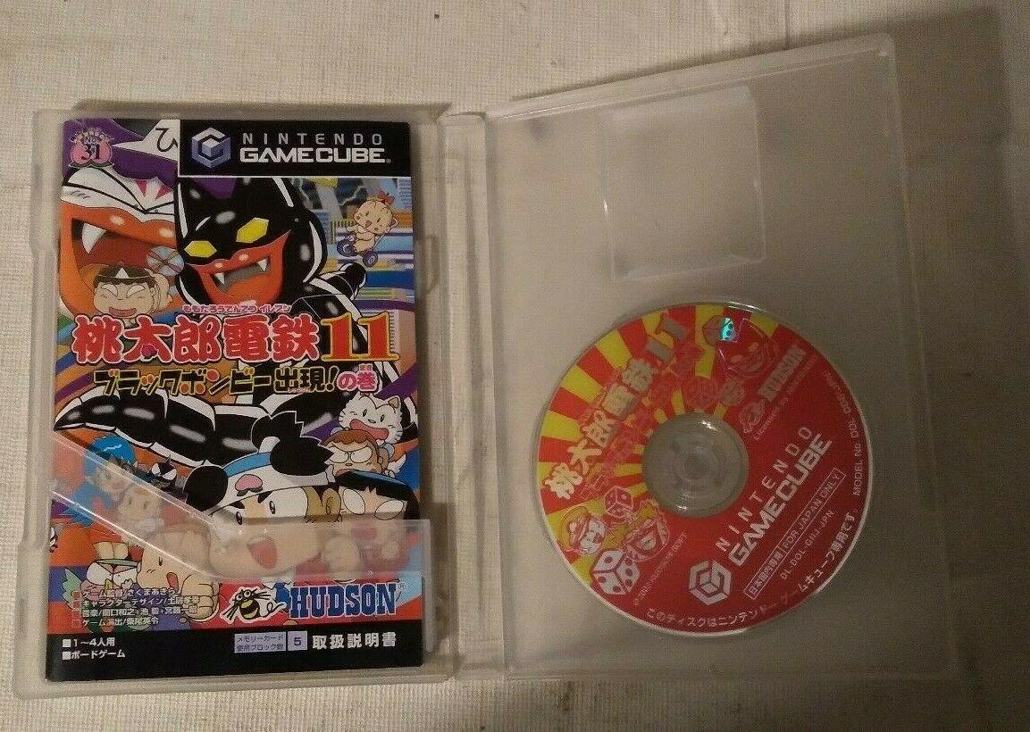 Momotaro Dentetsu 11 (Nintendo GameCube) with Case and Manual Japan Import