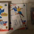 Jikkyou World SoccerWorld Cup France `98 Nintendo 64 N64 With Box Japan Import