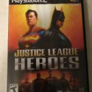 Justice League Heroes (Sony PlayStation 2, 2006) Complete With Manual PS2