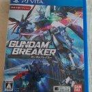 Gundam Breaker (Sony PlayStation Vita, 2014) W/ Manual Japan Import PS Vita