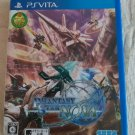 Phantasy Star Nova (Sony PlayStation Vita, 2014) W/ Manual Japan Import PS Vita
