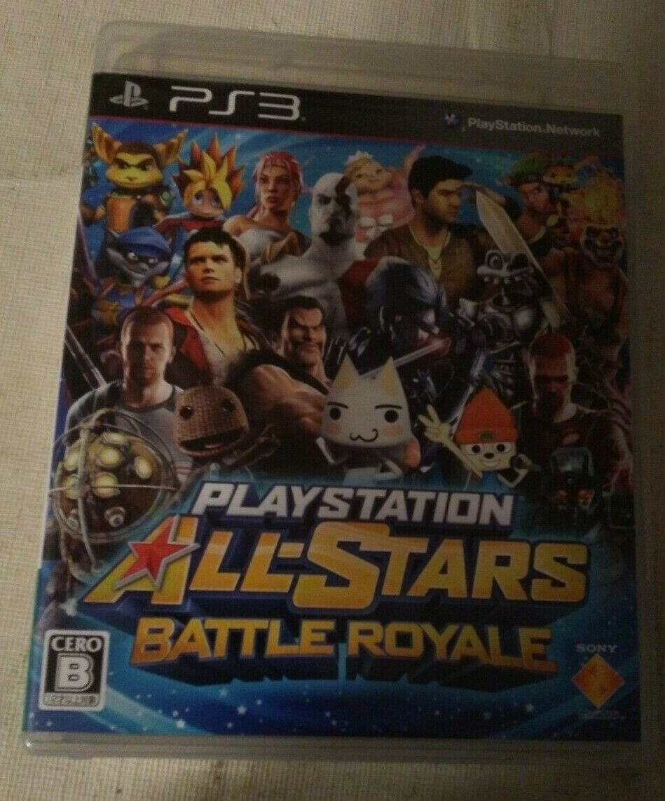 All-Stars Battle Royale (Sony PlayStation 3, 2012) Japan Import PS3 Tested