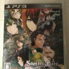 SteinsGate (Sony PlayStation 3, 2015) With Manual Japan Import PS3 Tested