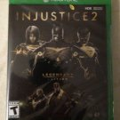 Injustice 2 Legendary Edition (Xbox One, 2018) Factory Sealed