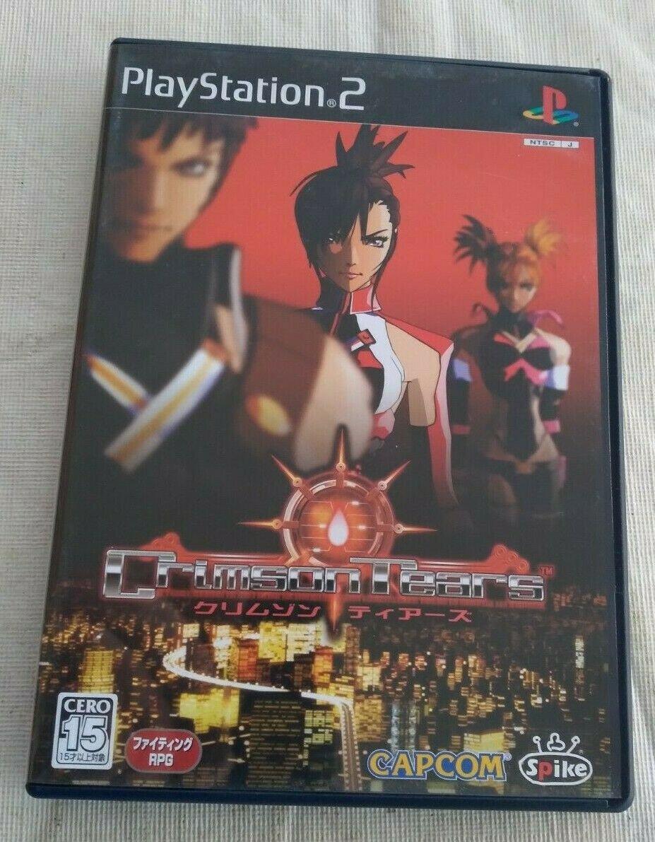 Crimson Tears (Sony PlayStation 2, 2004) Japan Import PS2 US Seller