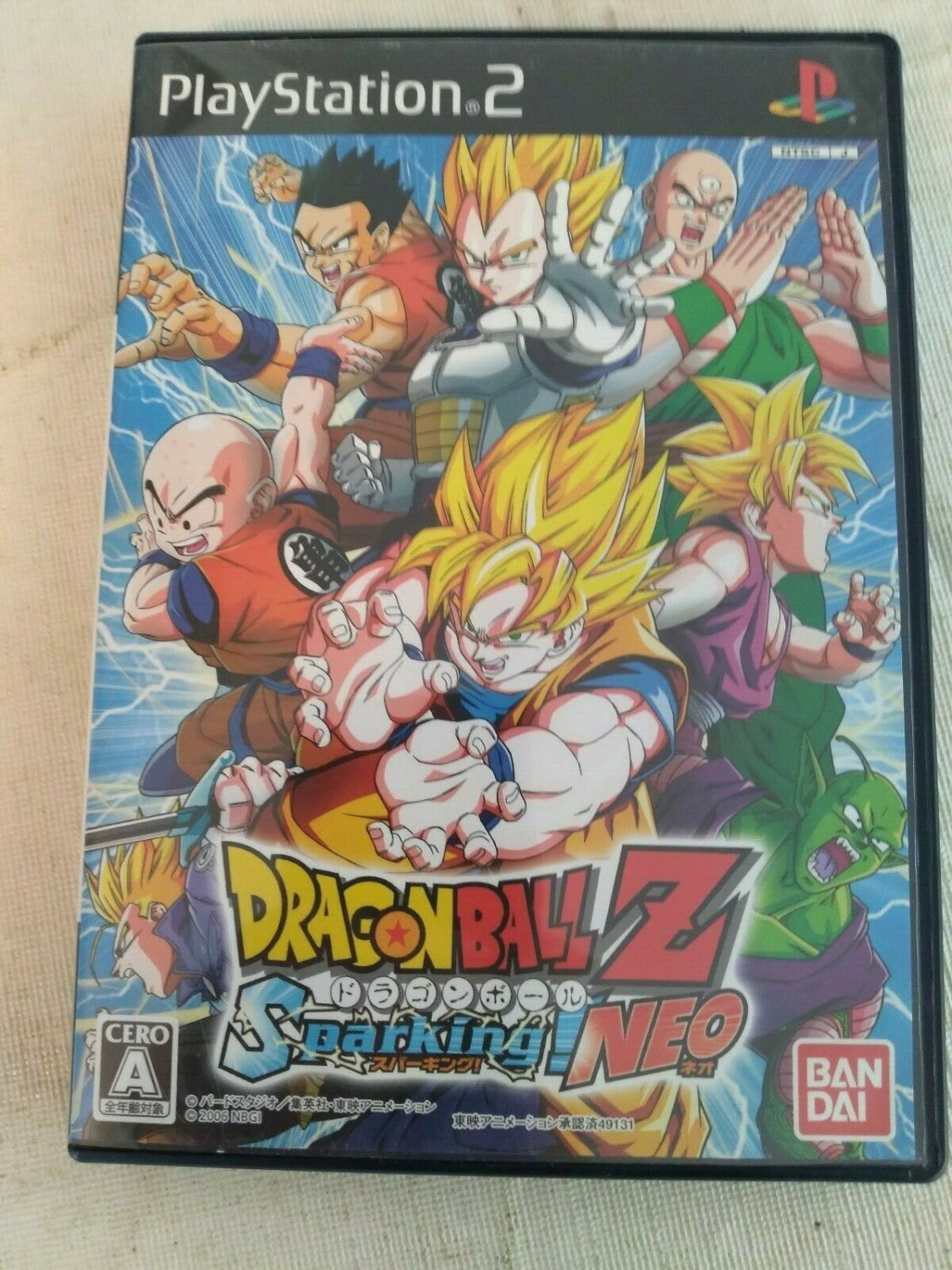 Dragon Ball Z: Sparking NEO (Sony PlayStation 2) Japan Import PS2 US Seller