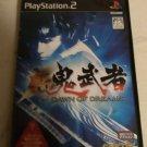 Onimusha: Dawn of Dreams (Sony PlayStation 2, 2006) Japan Import PS2